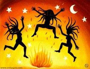 Dancing-Wild-Watercolour-Gaia-Orion